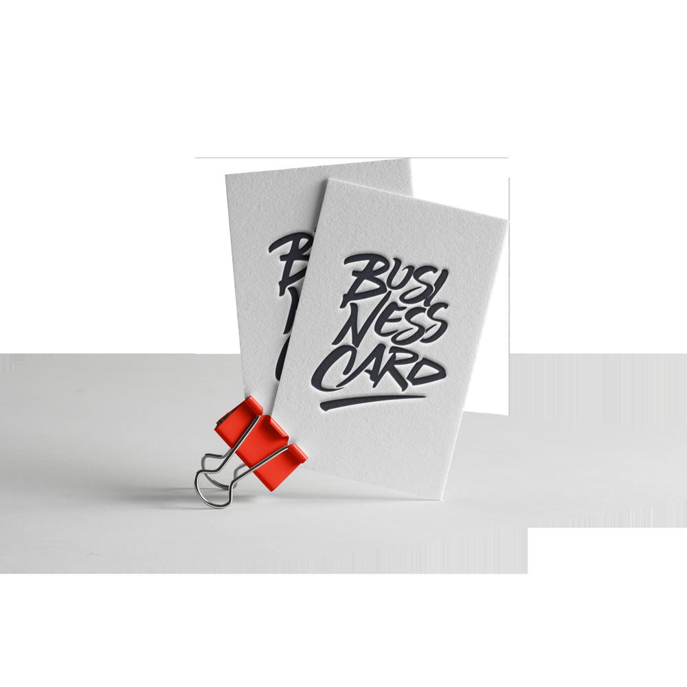 Letterpress Printed Business Cards - Exacta Print