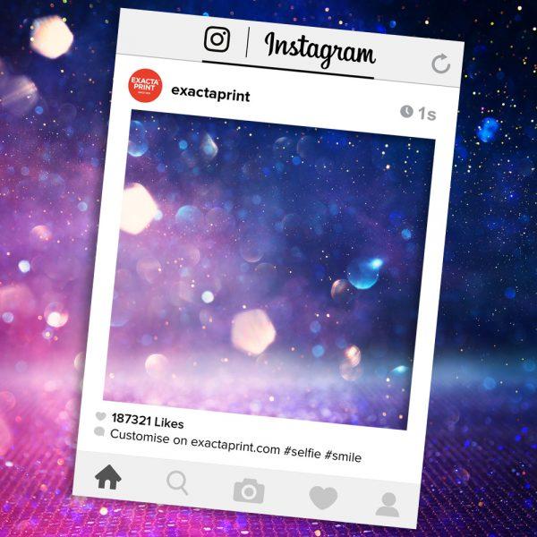 Instagram selfie prop frame